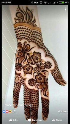 Shaded mehndi designs look absolutely beautiful and add a touch of glamour and elegance! Let's take a look at some of the most beautiful shaded mehndi designs that you could try. Henna Hand Designs, Mehandi Designs, New Mehndi Designs Images, Latest Henna Designs, Mehndi Designs Book, Mehndi Design Photos, Beautiful Henna Designs, Latest Mehndi Designs, Simple Mehndi Designs