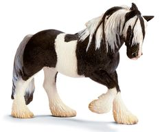 Schleich Horses are the most popular of all the Schleich figures. Horse Club figures are made up of horses, ponies and foals. They often include the riders of the horses. Mare Horse, Gypsy Horse, Farm Animals, Funny Animals, Animal Memes, Schleich Horses Stable, Bryer Horses, Equestrian Gifts, Horse Gifts