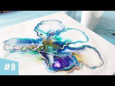 Acrylgieten is een hele leuke techniek waarbij je acrylverf verdunt en deze giet op een doek. Ik heb 10 leuke technieken voor je op een rijtje gezet. Acrylic Pouring Art, Acrylic Art, Gcse Art Sketchbook, Acrylic Painting Techniques, Fluid Acrylics, Pour Painting, Resin Art, Art Tutorials, Artwork