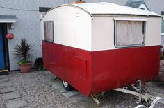 1950's Vintage Retro Classic Eccles 2 berth caravanoh i love this x . i have just bought one of these, a shell with not much interior x.....