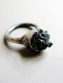 Black Stone Ring | Dreams of Norway