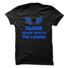 ARAGON, the man, the myth, the legend - #gift for guys #retirement gift. GUARANTEE => https://www.sunfrog.com/Names/ARAGON-the-man-the-myth-the-legend-plhznlekno.html?68278