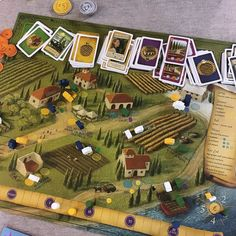 Played Viticulture last night and really enjoyed it!! Viticulture is a 1-6 player worker placement game about running a vineyard in Tuscany where you can plant vines harvest crush grapes build cellars go to market play some totally boss cards and much much more. I'm not usually a big fan of worker placement but I really enjoyed this one!!! There's 2 things mechanically that make it quite a bit different from your standard worker placement game. Firstly every player has a grande worker that…