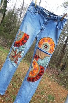 Sometimes you just need to patch the holes in your fav denim jeans...