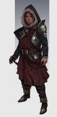 Arctic Warrior, The Aodhan on ArtStation at https://www.artstation.com/artwork/olmD4