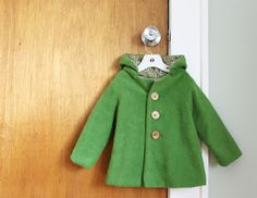 Pea coat tutorial. Show how to draft