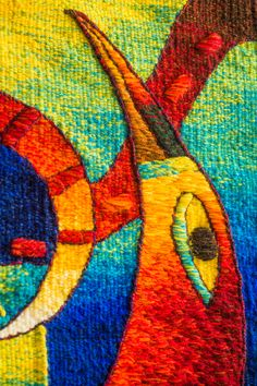 Click image for Hand Weaving, Textiles, Tapestry Weaving, Tapestries, Textile Art, Native American, Quilts, Image, Abstract Art