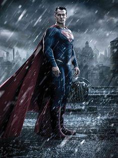 'Batman v. Superman: Dawn of Justice' Character Portraits: Like the Looks (So Far)?   Henry Cavill as Superman   EW.com