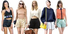 30 High-Waist Shorts to Buy Before Memorial Day Weekend  - ELLE.com