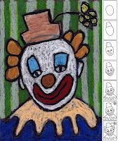 You searched for label/oil pastel · Art Projects for Kids how to draw a clown for the Clown of God School Art Projects, Projects For Kids, Drawing For Kids, Art For Kids, Clown Cirque, Circus Art, Circus Clown, 3rd Grade Art, Ecole Art