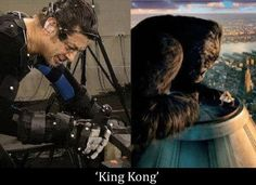 king kong - andy serkis is amazing! the man needs more credit! Mad Max, King Kong, Avatar Photo, Movie Special Effects, Deadpool, Side By Side Comparison, Entertainment Sites, Motion Capture, Capture Photo