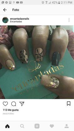 Manicure And Pedicure, Beauty Nails, Class Ring, Nail Designs, Make Up, Nail Art, Ideas, Nail Design, Nail Arts
