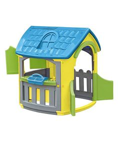 Look at this Villa Workshop Playhouse on #zulily today! Less than $200!
