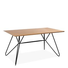 Tischplatte aus MDF mit Eschenfurnier. Dicke der Tischplatte 2,7 cm. Table, Home Decor, Living Room, Essen, Decoration Home, Room Decor, Tables, Home Interior Design, Desk