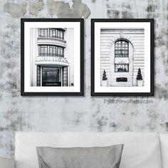 Paris Wall Decor, Paris Wall Art, White Wall Decor, Wall Art Prints, Fine Art Prints, Personalized Wall Decor, Ikea Frames, Black And White Prints, Boutique Etsy