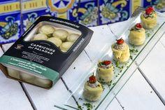 Comenzamos semana con otra delicatessen de JA Pellicer y su alumna de cocina Noelia Huéscar del IES La Flota: Alcachofa rellena de mantequilla de Sardina, plato de verano muy fácil y sencillo de hacer con nuestras bandejas termoselladas, listas para abrir y consumir.