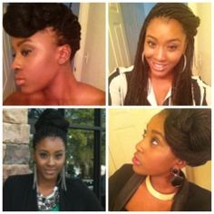 Nappturally Chic Jeré: 7 Different Styles for your Box Braids!!!