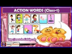 Action words for kids by Smart School | Words pictures & meaningful sen... Meaningful Sentences, Smart School, Learning Sites, Action Words, Word Pictures, The Creator, Education, Kids, Clever School