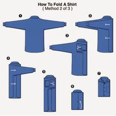 Here is a great way to fold your shirt if you are traveling or just storing. #mensweartips
