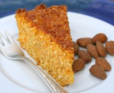 Carrot and coconut cake without flour www. Gluten Free Sweets, Gluten Free Recipes, Italian Desserts, Fun Desserts, Sweet Light, Sweet Recipes, Cake Recipes, Happiness Recipe, Patisserie Sans Gluten