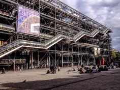 Centro Nacional de Arte y Cultura Georges Pompidou (Paris - France)
