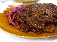 Healthy is still flavorful! This Asian-spiced brisket is SO good