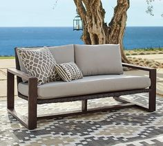 Positano All-Weather Wicker Loveseat | Pottery Barn Sale $329