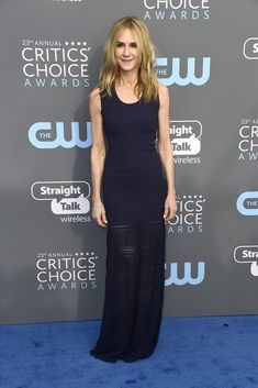 Holly Hunter - The Best Looks from the 2018 Critics' Choice Awards - Photos