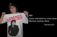 :( His idol! Justin Bieber Facts, I Love Him, My Love, Day Of My Life, My Everything, More Than Words, To My Future Husband, Good People, Michael Jackson