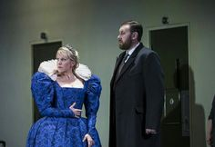 Matthew Rose with Joyce DiDonato in Maria Stuarda Royal Opera House
