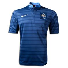 Camiseta de Francia para la UEFA EURO 2012.  Ingrid Irribarren.