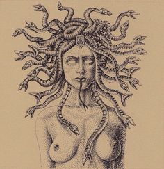 I have a strange obsession with Medusa!