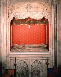Prince William of Hatfield's Tomb  This is the only royal tomb in York Minster. Although the tomb figure is that of a young boy - William, who was the son of Edward III actually died as a baby. The tomb has been moved several times: it was placed here, in what is though to be its original position, in 1979.