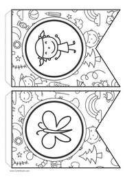 #banderin #cumple #cumpleanos #fiestainfantil #fiesta #dibujosparacolorear #listoparaimprimir #cartelgratis #pennant #banderinfiesta #eventosinfantiles #educacioninfantil #actividadesparaninos #peques #banderinparapintar #dibujoparapintar #manualidades #DIY #cotillon #tareaecolar #ideasparaprofes Memes, Diy, Infant Activities, Activities For Kids, Parties Kids, Printable Labels, Free Coloring Pages, Birthday Bunting, Bricolage