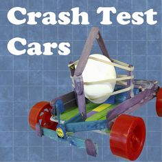 Loads of engineering projects for kids on instructables including this crash test car