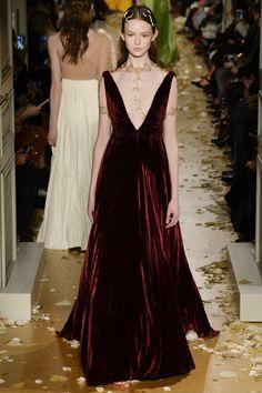 Valentino Spring 2016 Couture Fashion Show - Eva Borovska