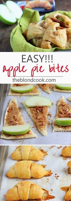 !These incredibly delicious (and easy) Apple Pie Bites are going to be your go-to dessert in a hurry       Read Full Recipe