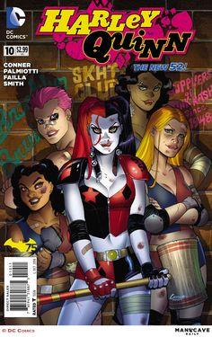 Harley Quinn N°10 - Cover by Amanda Conner