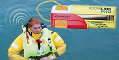 AIS (Automatic Identification System) device designed to be fitted to a lifejacket and assist in Man Overboard recovery.