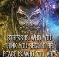 Stress is who you pretend to be. Align with your true self to feel total complete peace . Stress is who you pretend to be. Align with your true self to feel total complete peace . Spiritual Wisdom, Spiritual Awakening, Awakening Quotes, Spiritual Enlightenment, Positive Affirmations, Positive Quotes, Positive Vibes, Wisdom Quotes, Life Quotes