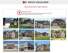 Have you used our Project Visualizer yet? It's a useful design tool that allows you to see how our products look in the wall. Try the pre-loaded photos or upload your own, map out the surfaces, apply our products and see how they look. Click the link to start visualizing today... Bad Photos, Pictures Of You, Cool Photos, Tool Design, How To Take Photos, Brick, Surface, How To Apply, Map