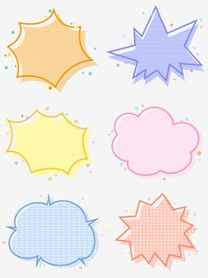 Cartoon cute explosion cloud border box dialog session bubble PNG and PSD Bullet Journal Font, Bullet Journal Ideas Pages, Journal Stickers, Planner Stickers, Apple Logo Wallpaper Iphone, Cartoon Clouds, Black And White Cartoon, Cartoon Clip, Wreath Drawing