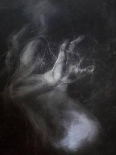 "Saatchi Art Artist ana devora; Drawing, ""Shadows"" #art"