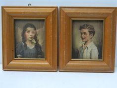 Meet Cynthia and Richard / Vintage Framed by QuirkyCrowsVintage, $22.00