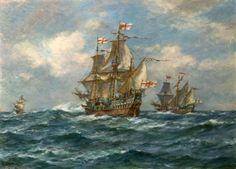 The 'Golden Hind' Sails Another Great Enterprise, 13 December 1577-Bernard Finnigan Gribble