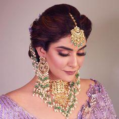 Best Bridal Makeup, Bridal Makeup Looks, Indian Bridal Makeup, Bridal Hair And Makeup, Bridal Looks, Bridal Make Up, Hairstyle With Suit, Bridal Hairstyle, Prom Hairstyles