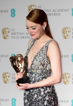 Avalanche of awards for Emma Stone. 2017 British Academy Film Awards Pressroom on 12 Feb. 2017. Follow rickysturn/amazing-women