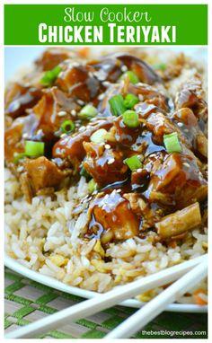 Slow Cooker Chicken Teriyaki | The Best Blog Recipes