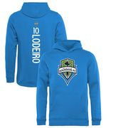 Nicolas Lodeiro Seattle Sounders FC Fanatics Branded Youth Backer Name & Number Pullover Hoodie