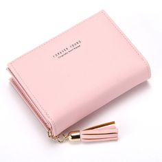 Women Faux Leather Tassel Card Holder Coin Purse sales at a good price. Come to Newchic to buy a wallet, more cheap women wallets are provided online. Cat Wallet, Leather Tassel, Leather Pants, Black Leather, Pink Sky, Candy Colors, St Kitts And Nevis, Wallets For Women, Free Gifts